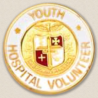 Stock Junior Volunteer Lapel Pin – AHA Logo Design #231