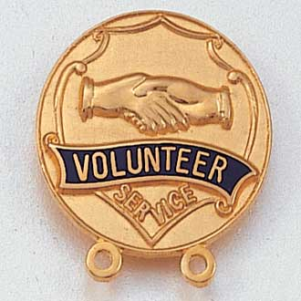 Volunteer Service Lapel Pin #111