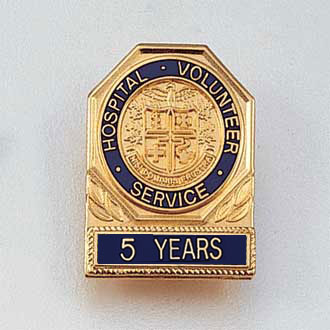 Stock Volunteer Lapel Pin – AHA Style #116-Y