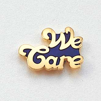 We Care Lapel Pin #135
