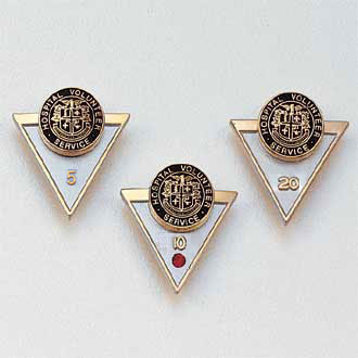 Stock Years of Service Lapel Pin – Triangle Design #150-Y