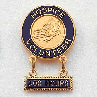 Hospice Volunteer Lapel Pin #157