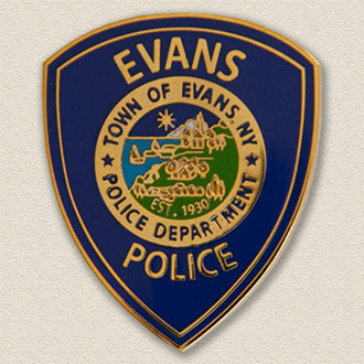 Town of Evans Police Department Lapel Pin #2103