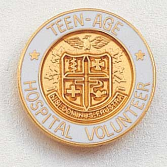 Teenage Hospital Volunteer Lapel Pin #202