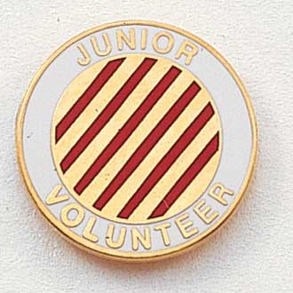Junior Volunteer Lapel Pin #216