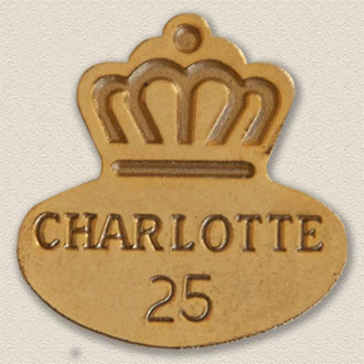 City of Charlotte Years of Service Lapel Pin #3003