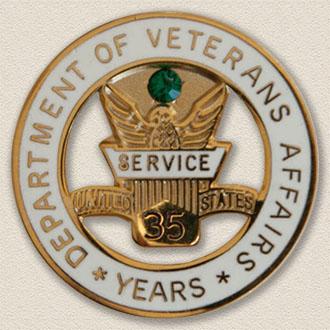 Department of Veterans Years Service Lapel Pin #3010