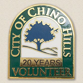 Custom City Lapel Pin – Tree Design #3013