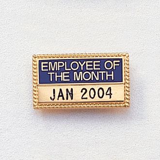 Stock Employee/Volunteer of the Year/Month Attachment – Engravable Guard Design #471