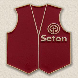 Custom Volunteer Lapel Pin – Vest Design #5022