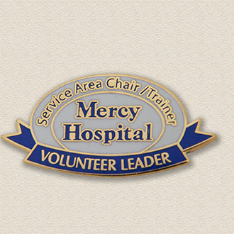 Custom Volunteer Pin – Leader Design #5024