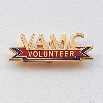 Custom Volunteer Lapel Pin #562