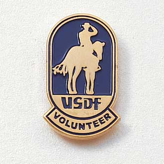 Custom Association Lapel Pin – Horse Design #563