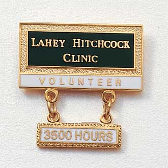 Custom Volunteer Lapel Pin – Hospital Logo Design #568