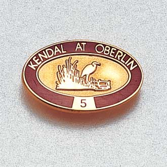 Custom Assisted Living Lapel Pin – Heron Design #4005