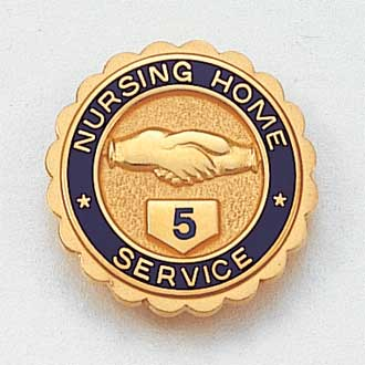 Nursing Home Service Lapel Pin #636