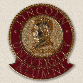 Custom College/University Lapel Pin – Lincoln Design #7003