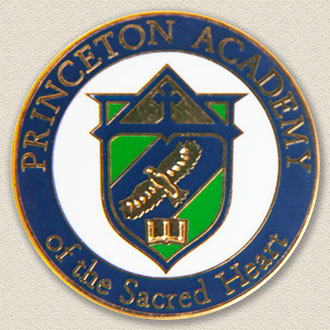 Princeton Academy of the Sacred Heart Lapel Pin #7004