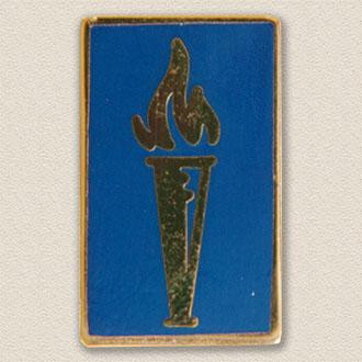 Custom College/University Lapel Pin – School Logo Design #7005