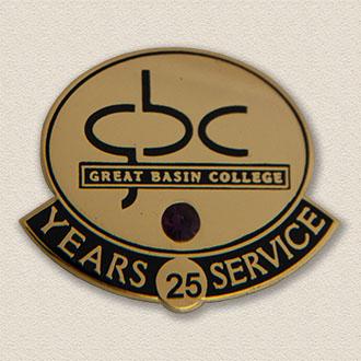 Custom College/University Lapel Pin – College Logo Design #7007