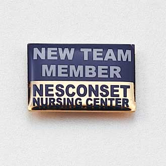 Custom Nursing Lapel Pin – Team Member Design #716