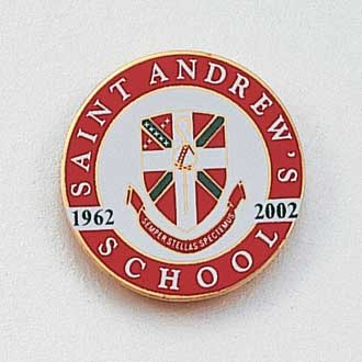 Custom School Lapel Pin – Shield Design #719