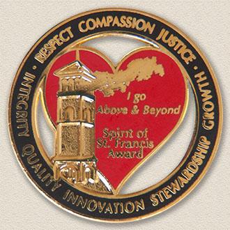 St. Francis Award Lapel Pin #8000