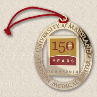 Custom Anniversary Ornament – University Medical Center Design #8030
