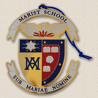 Custom School Ornament – School Seal Design #8031