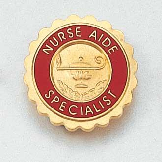Nurse Aide Specialist Lapel Pin #866