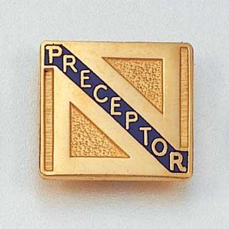 Preceptor Lapel Pin #869