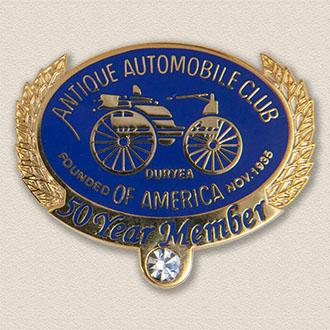 Custom Association Lapel Pin – Antique Car Design #9018