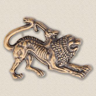 Custom Association Pin – Chimera Design #9024