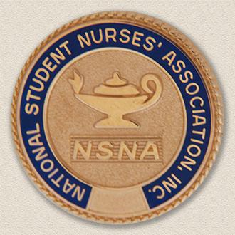Custom Association Pin – Nursing Lamp Design #9032