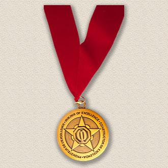 Custom Association Medallion – Star Design #9037