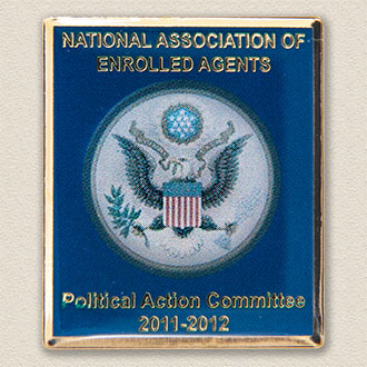 Custom Political Action Committee Pin – Presidential Seal Design #9039