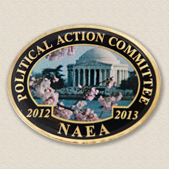 Custom Political Action Committee Pin – Cherry Blossom Design #9040