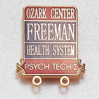 Custom Certification Lapel Pin – Tech Design #943