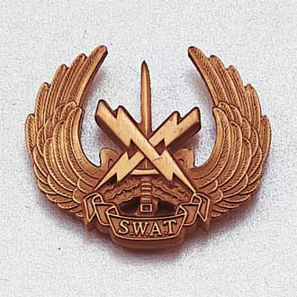 Custom Police Lapel Pin – S.W.A.T. Design #947