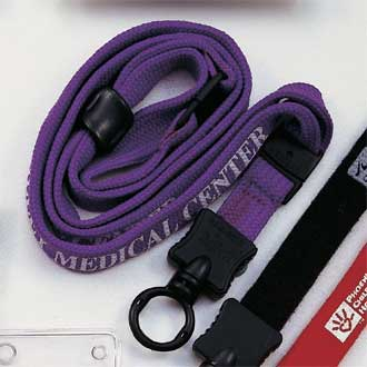 Custom Lanyard – O-Ring Attachment Style #A