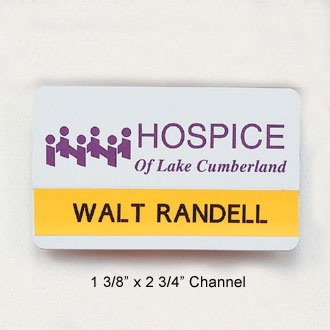 Custom Name Badge with Slot #C-1