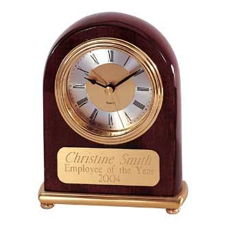 Custom Clock – Wooden Arch Design #P-550