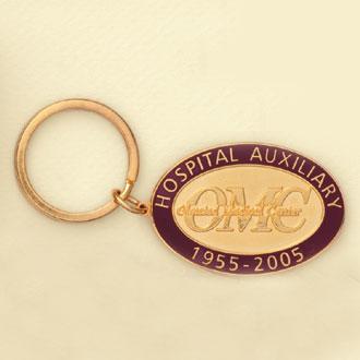Custom Keychain – Anniversary Design #Gift-G