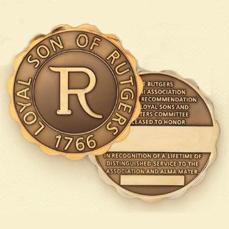 Custom College/University Coin Medallion – Alumni Design #7025