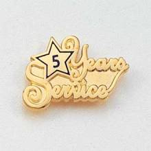 Years of Service Lapel Pin #624