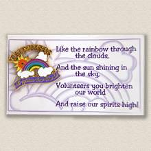 Stock Special Event Lapel Pin – Rainbow Design #L103