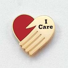 I Care Lapel Pin #131