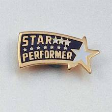 Stock Excellence Lapel Pin – Star Performer Design #132