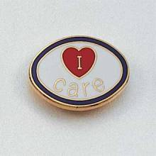 I Care Lapel Pin #134