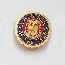 Stock Volunteer Lapel Pin – AHA Logo Design #139